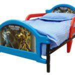 детска кровать для мальчика с бортиками от падения