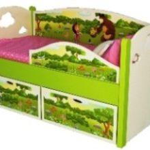 Детские кровати с бортиками для спокойного и безопасного сна