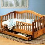 детские кровати с бортиками и ящиками