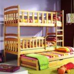 детские кровати с ящиками и бортиком фото