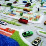 детский ковер для мальчика с дорогами