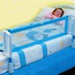 съемный защитный бортик для детской кровати