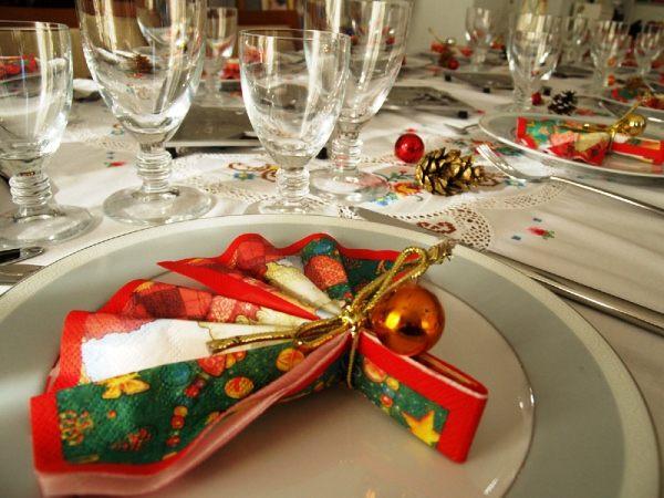 Идеи украшения новогоднего стола фото