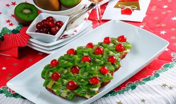Украшение новогодних блюд фото