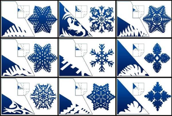 Красивые снежинки из бумаги фото 10