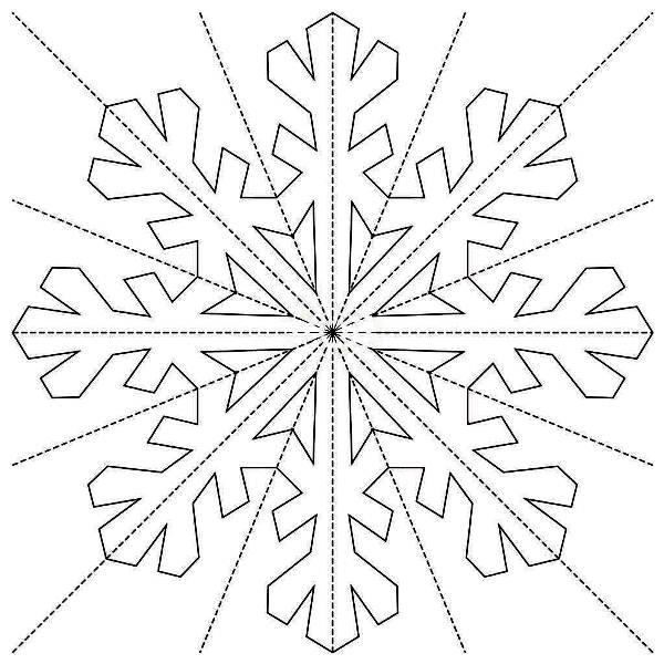 Красивые снежинки из бумаги фото 16