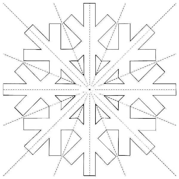 Красивые снежинки из бумаги фото 17