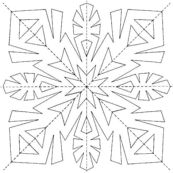 Красивые снежинки из бумаги фото 18