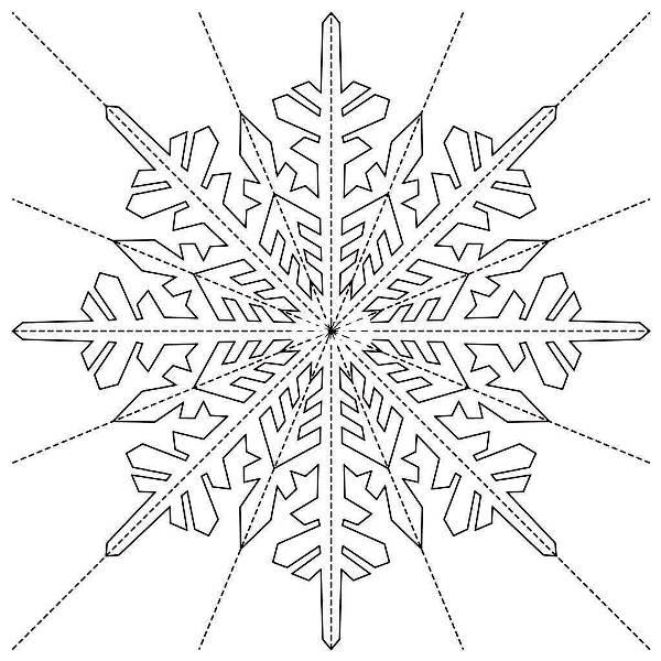 Красивые снежинки из бумаги фото 19