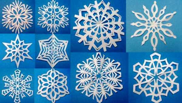 Красивые снежинки из бумаги фото 2