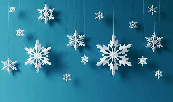 как сделать красивые снежинки из бумаги своими руками пошагово легко