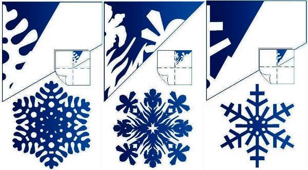 Красивые снежинки из бумаги фото 8