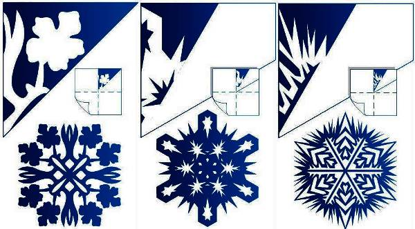 Красивые снежинки из бумаги фото 9