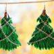 Как сделать новогоднюю елку канзаши своими руками — мастер-класс