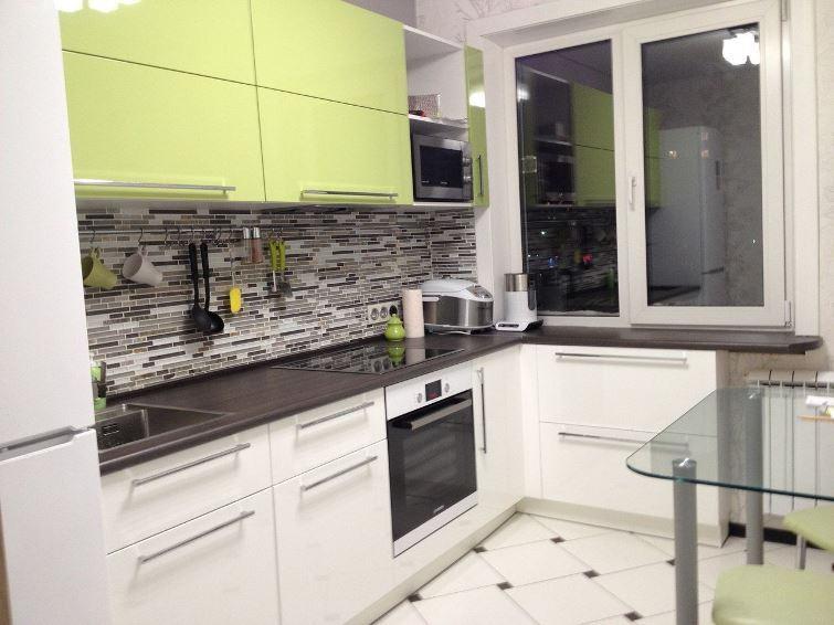 кухня 9 кв. м фото 1