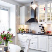 Кухня 9 кв. метров, как мечта любой хозяйки — поместится всё!